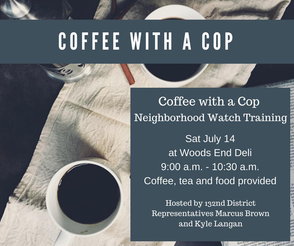 Coffee w Cop 7.14
